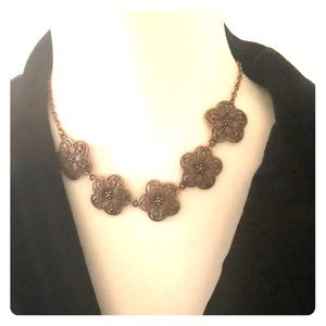 Jewelry - Copper necklace with earrings